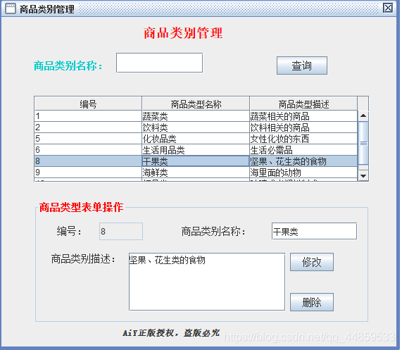 Java实现超市管理系统,包含源代码!